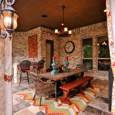 photos 10 fabulous outdoor dining rooms - Southwestern Decor