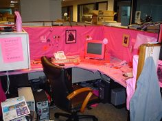 Cube Pranks: Pinked by Jhirbour, via Flickr
