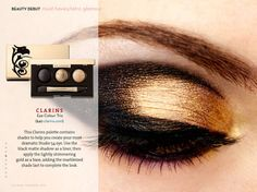 Such a beautiful evening eye look for spring/summer!