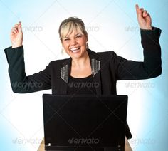 Realistic Graphic DOWNLOAD (.ai, .psd) :: http://vector-graphic.de/pinterest-itmid-1006942524i.html ... Studio portrait of a cute blond girl with a computer hands up ...  Hands Up, blond, business, caucasian, computer, cute, expression, face, girl, hand up, happy, head, joy, laptop, portrait, smile, woman, work, working, young  ... Realistic Photo Graphic Print Obejct Business Web Elements Illustration Design Templates ... DOWNLOAD :: http://vector-graphic.de/pinterest-itmid-1006942524i.html