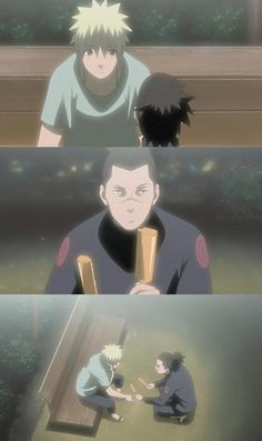 Master Jiraiya will always watch over you. Even this very minute, he's watching from somewhere. He wouldn't be happy seeing you sad like this. So… Be your usual self, the one he praised so much. Don't stay depressed forever. For Master Jiraiya himself, one of the Legendary Sannin… acknowledged you as his promising student! #iruka #naruto
