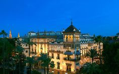 World's Top 50 Hotels: Hotel Alfonso XIII, a Luxury Collection Resort, Seville, Spain