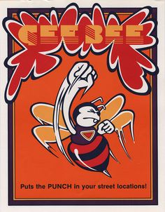 The Arcade Flyer Archive - Video Game Flyers: Gee Bee, Gremlin Industries Arcade, Make A Flyer, Archive Video, Nintendo, Pc Engine, Game Themes, Booklet Design, Graphic Design Trends, Old Games