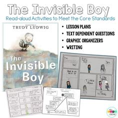 The Invisible Boy Read-Aloud Activities to Meet the Core Standards.