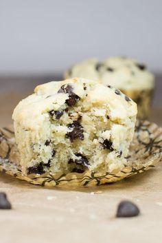 Gluten Free Chocolate Chip Muffins Low FODMAP