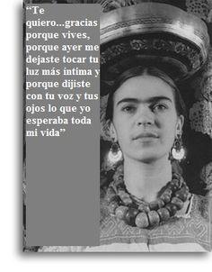 Bildergebnis für chavela vargas y frida kahlo carta Favorite Quotes, Best Quotes, Love Quotes, Inspirational Quotes, Frida Quotes, Frida And Diego, Diego Rivera, More Than Words, Spanish Quotes