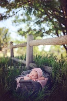 Newborn pictures outside