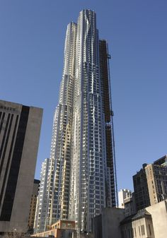 Frank Gehry tower NYC