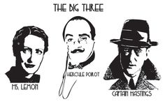 Hercule Poirot. Whoever did the casting for these is genius. They are spot on from my imagination reading the books.