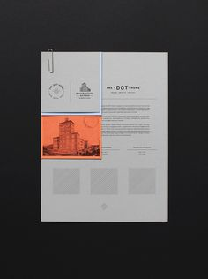The Dot Home & Balin Manufacture on Behance Design Brochure, Stationery Design, Identity Design, Editorial Design, Editorial Layout, Design Poster, Print Design, Logo Design, Flyer Design