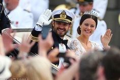 Prince Carl-Philip and Princess Sofia