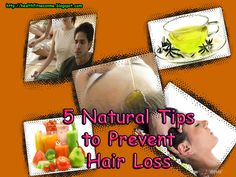 5 Natural tips to prevent hair loss