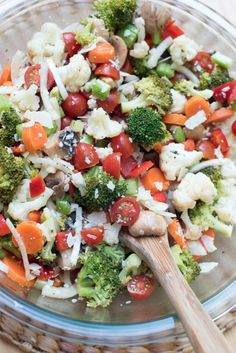 Vibrant and delicious! Includes a photo tutorial on how to blanch vegetables. ~ http://www.fromvalerieskitchen.com
