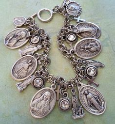 Queen of Heaven Bracelet Stunning Virgin Mary by MarysPrayers, $75.00