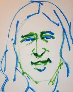 いいね!0件、コメント1件 ― @1mindrawのInstagramアカウント: 「#1mindraw #matayoshinaoki #又吉直樹 #19800602 #birthday #誕生日 #portrait #筆ペン画」