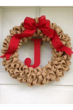 christma wreath, christmas wreaths, holiday wreaths, burlap wreaths, brown christma, christma decor, christma burlap, brown burlap, diy christmas