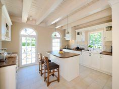 Küche im Einfamilienhaus Crichton von Baufritz • Mit Musterhaus ...