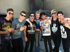 Crown the Empire and Bryan Stars