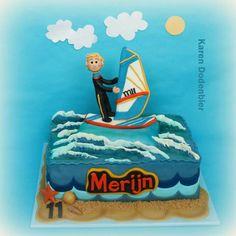 Wind Surfer cake