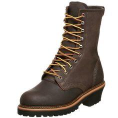 """Golden Retriever Men's 9"""" Steel Toe Work Boot,Brown,10.5 D"""