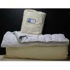 Alpaca duvet made in Manilla (On) by Salem Alpacas. Light, hypoallergenic, naturally dust-mite resistant. Cool in the summer and warm in the winter. Heavenly!