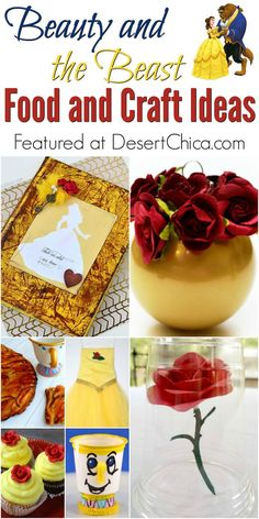 Beauty and the Beast Food and Craft Ideas
