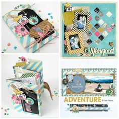 ScrapbookSteals.com | Daily Scrapbook Deals at 8am & 8pm PST. Ideas & How To - Fancy Pants As You Wish