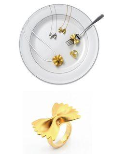 hyeran Lee - pasta jewelry
