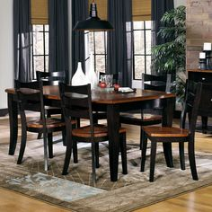 Progressive Furniture Inc. Jake 7 Piece Dining Set