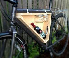 Bike wine carrier