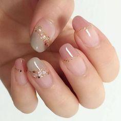 Adorable 40 Amazing Spring Nail Art Designs Ideas To Try In 2019 March 08 2020 at nails Cute Pink Nails, Pink Nail Art, Pretty Nail Art, Beautiful Nail Art, Stylish Nails, Trendy Nails, Elegant Nails, Korean Nail Art, Korean Nails