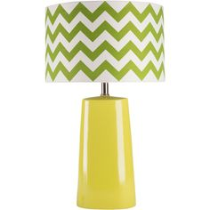 24 Gabby Table Lamp in Green