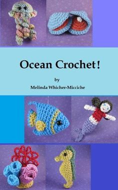 Sea Creatures: Amigurumi Crochet Pattern Books Crocheted Buddies