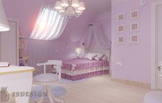 Детская комната - Дизайн проект интерьера частного дома в Tachlovice (Прага – Запад) под ключ. Интерьер в классическом стиле. Дизайнер – Инна Войтенко. Строительные, отделочные, монтажные работы – компания ISDesign group s.r.o. Toddler Bed, Cottage, Classic, Projects, Furniture, Home Decor, Child Bed, Derby, Log Projects