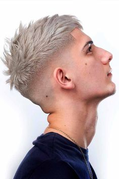 Looking for the most popular short haircuts for men? Our gallery offers you a wide range of options, from a classy military long on top fade on the sides cuts with beards to faux hawk with straight or with curly hair. #menshaircuts #menshairstyles #shorthaircutsformen #shorthairmen #mensshorthaircuts
