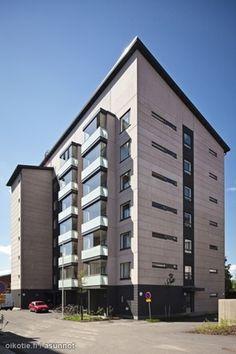 Radanpää 6 Vuonna 2010 valmistuneessa seitsenkerroksisessa Lumo-talossa on paljon pieniä koteja: 25 neliön yksiöitä (13 kpl) sekä kahden kokoisia saunallisia kaksioita (6 kpl 42 m2 ja 33 kpl 51 m2). K