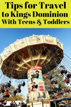 Tips for visiting Kings Dominion near Richmond, Virginia with tweens, teens, preschoolers and toddlers. There are plenty of rides for the whole family. From roller coasters to Planet Snoopy, this theme park is sure to please everyone.