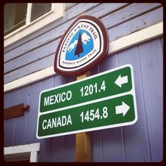 PCT.  Treat your self to a stay at the St. Bernard Lodge.  Just about the half-way point. 1.9 miles west of PCT on Hwy 36