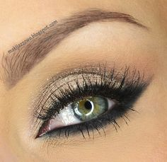 This stunning and elegant look is easy to do and adds a touch of old world glamour to your look.