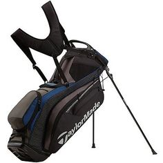 0c92d5f5272e Taylormade Pure-Lite 2016 Black Blue Stand Golf Bag Disc Golf Scene