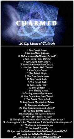 30 day Charmed challenge