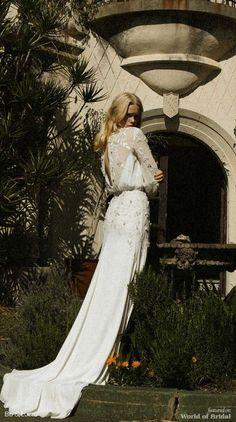 Bo and Luca 2018 Wedding Dresses - World of Bridal Stunning Wedding Dresses, Modest Wedding Dresses, Wedding Bridesmaid Dresses, Boho Wedding Dress, Wedding Attire, Simple White Dress, Simple Dresses, Bo And Luca, W Dresses