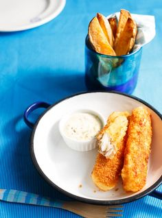 Filets de poisson panés Recettes   Ricardo