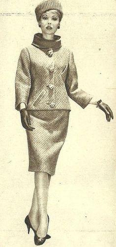Model by:Guy Laroche.1961.