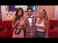 Season14, Week 8:  Roshon Fegan and Chelsie Hightower dance Foxtrot