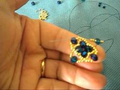 tutorial modulo Glamour Diy Jewelry Tutorials, Beading Tutorials, Beaded Rings, Beaded Bracelets, Handmade Jewelry, Diy Jewellery, Jewelery, Beaded Jewelry Patterns, Bracelet Tutorial