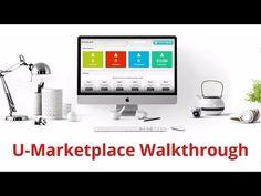 UEconomy U-Marketplace Walkthrough - Sell Your Expertise and Profit!