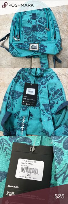 NEW mini dakine backpack Brand new with tags backpack . (Hawaii edition) Dakine Bags Backpacks
