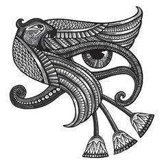 Egyptian Protection Symbol Tattoo Design Horus Tattoo Egyptian Eye Tattoos Egyptian Symbol Tattoo