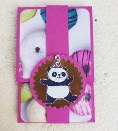 Mobile Phone Gift Card – Shannon Kissane, gift card packaging, Stampin' Up!, Picture Perfect Party DSP, Party Pandas